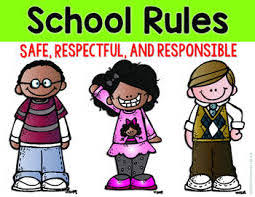 school rules image